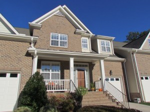 Heritage Golf Course Views Townhouse For Sale Raleigh NC Coldwell Bank